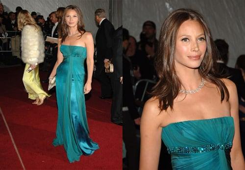 The Met's Costume Institute Gala: Christy Turlington