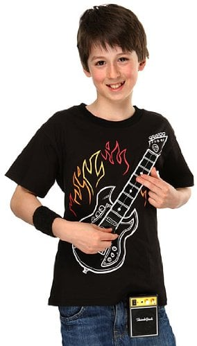 Electronic Rock Guitar Shirt