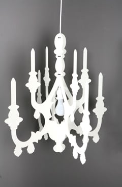 Simply Fab: Coolio 3-D Chandelier