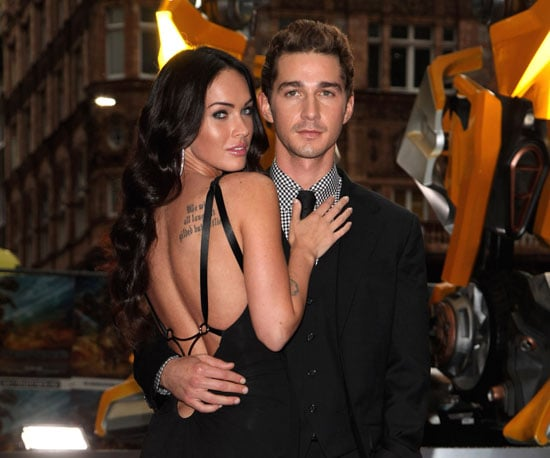Photo Slide of Megan Fox and Shia LaBeouf at a Transformers: Revenge of the Fallen Premiere in London