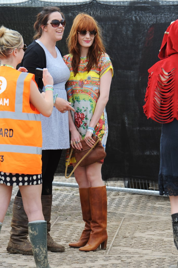 Florence Welch posed with a pal.