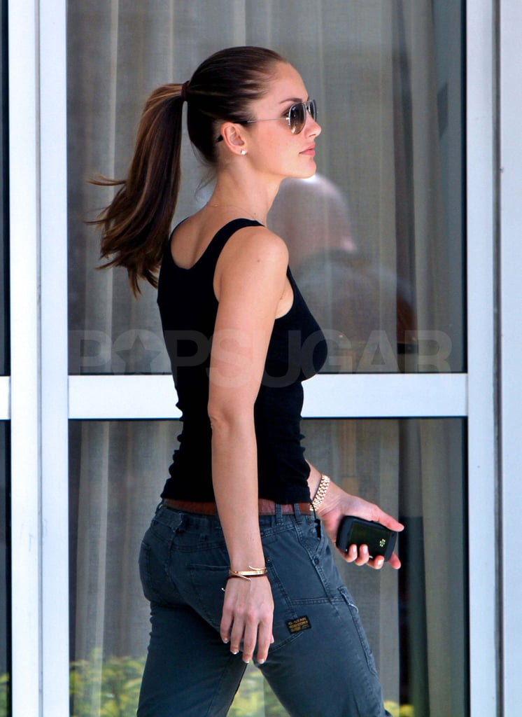 Minka Kelly and Her Fellow New Charlie's Angel Scope Out Miami as Derek Completes His Huge Mansion