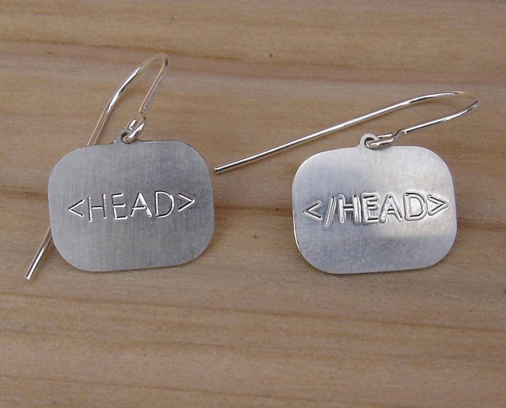 HTML Earrings
