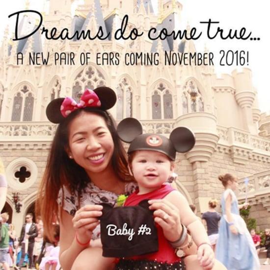 Disney Pregnancy Announcement Ideas