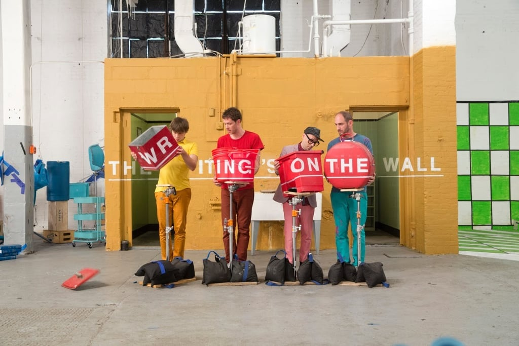 """Best Visual Effects: """"The Writing's on the Wall"""" by OK Go"""