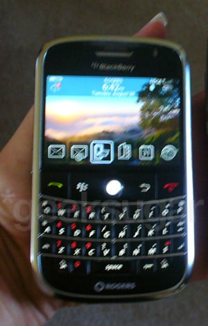 RIM to Launch the BlackBerry Bold On October 27