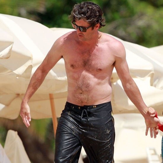 Patrick Dempsey Shirtless in Hawaii