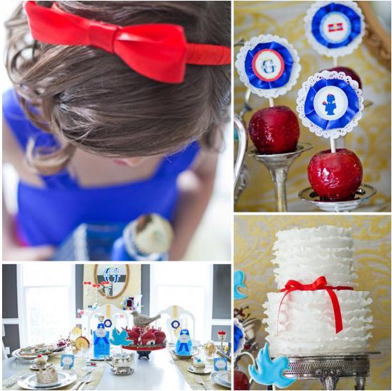 A Snow White Birthday Party