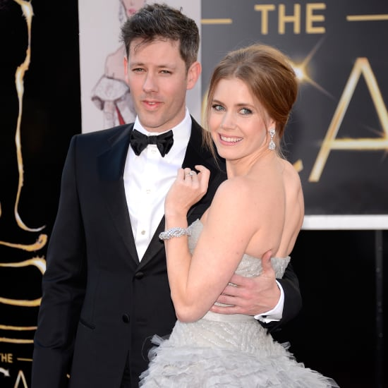 Amy Adams and Darren Le Gallo at the Oscars 2013