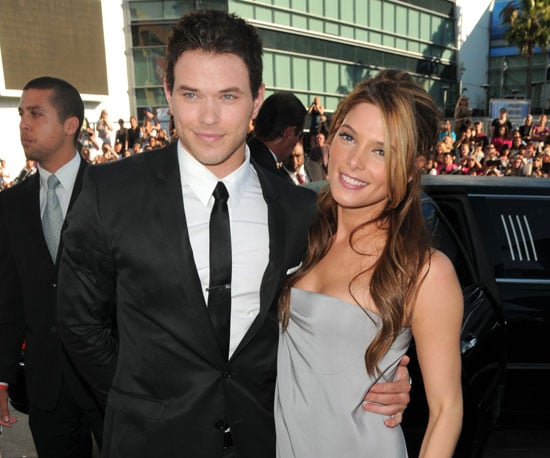 Slide Picture of Kellan Lutz and Ashley Greene at Eclipse Premiere
