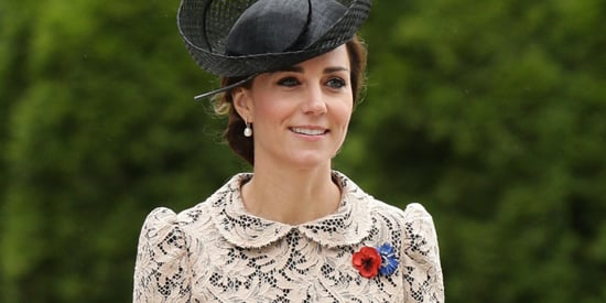 The Duchess Of Cambridge Stumps Her Loyal Followers In A Pretty Lace Dress