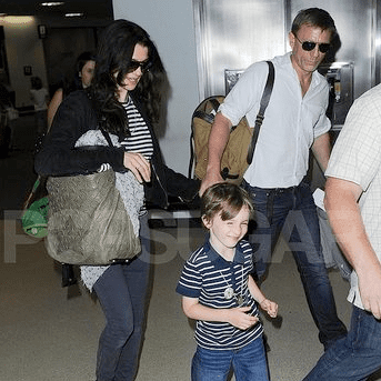 Rachel Weisz and Daniel Craig Pictures Together With Her Son