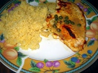 Lite'n It Up Feature: Chicken Breasts With Mustard-Caper Sauce