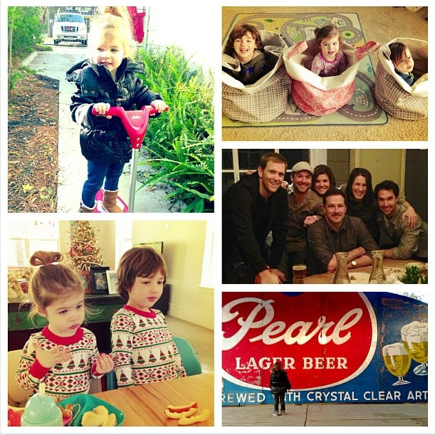 Harper Smith enjoyed a Southern holiday visiting with family and friends in Houston. Source: Instagram user tathiessen