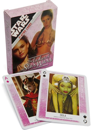 The Ladies of Star Wars Cards (approx $6)