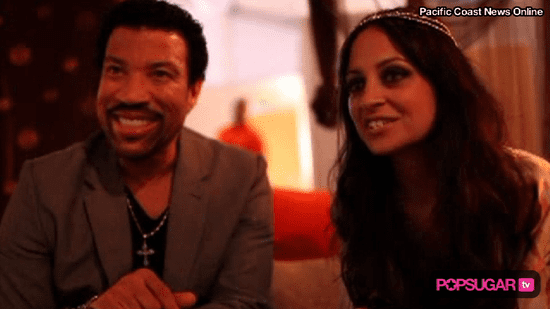 Video of Nicole Richie and Lionel Richie Interview