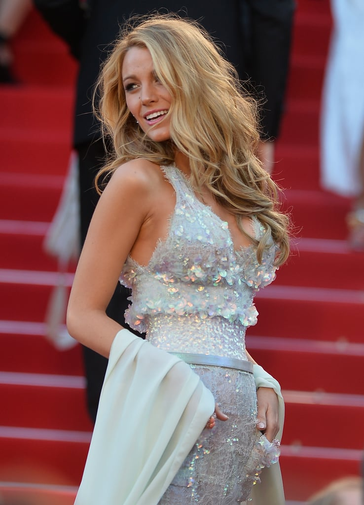 Blake wowed the crowds when she walked the red carpet at the Cannes Film Festival in May 2014.