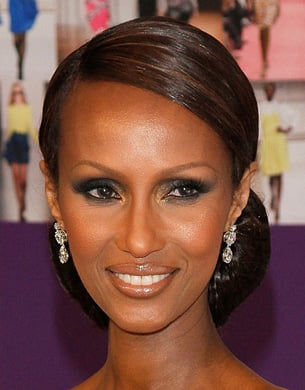 Iman: Smoky Eye Makeup Ideas
