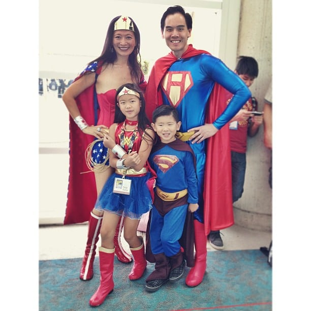 Game over. This family won Comic-Con.
