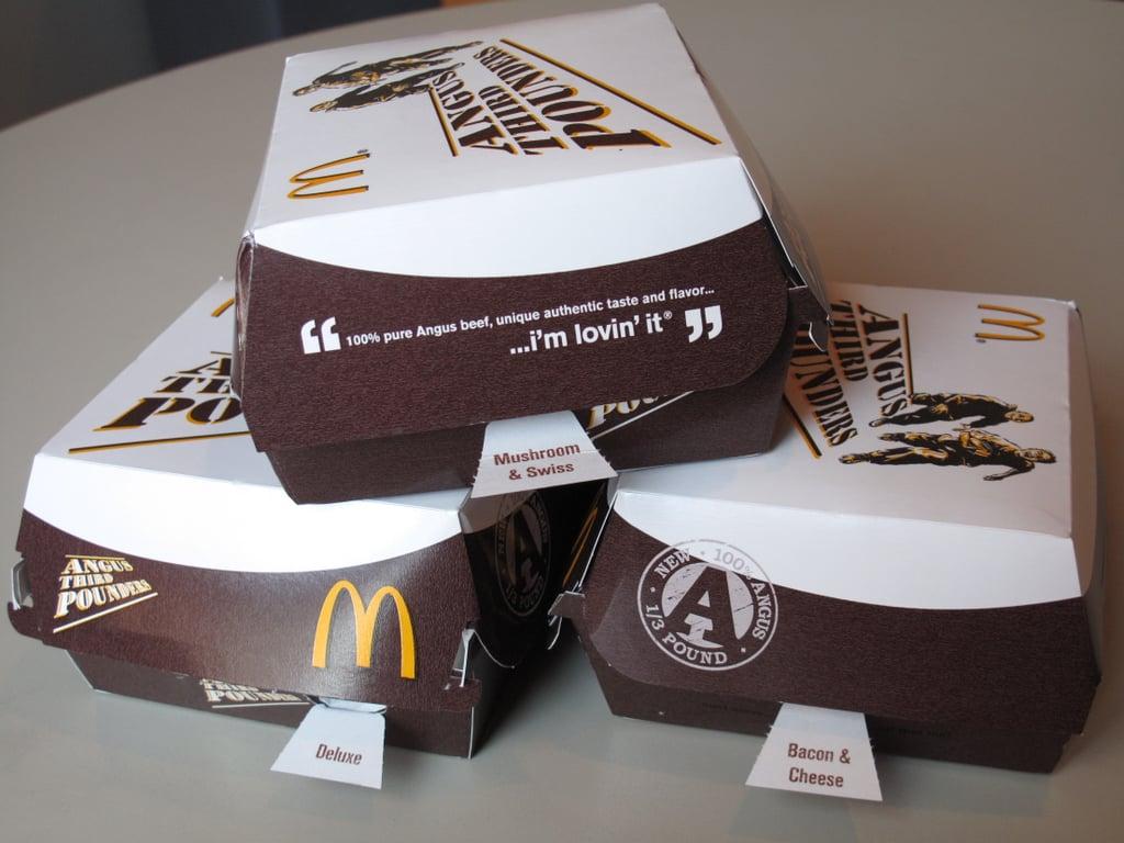 Photos: Taste Test of McDonald's Angus Third Pounders