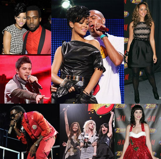 Rihanna, David, Kanye and More Jingle All the Way