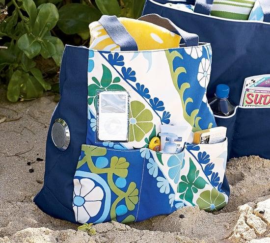 Pottery Barn's Media Friendly Beach Bag