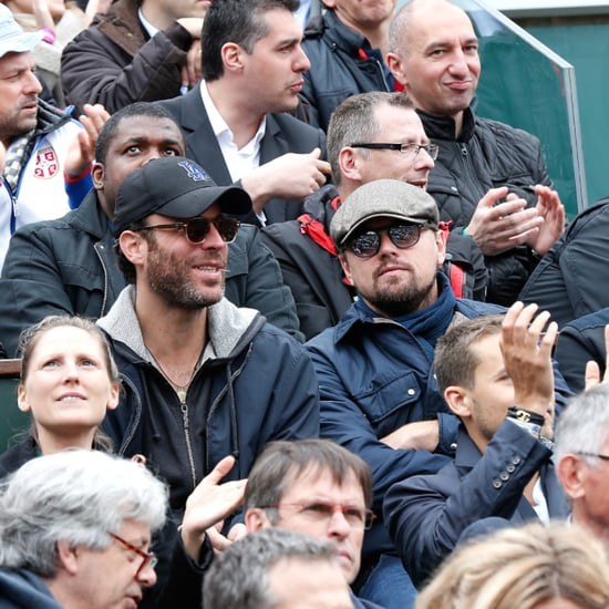 Leonardo DiCaprio at French Open 2016
