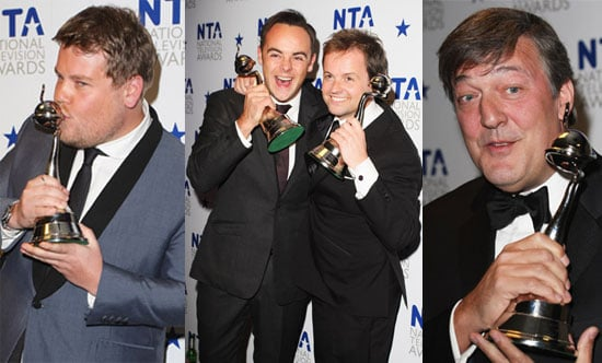 Photos of the Winners and Backstage at the Press Room at the National Television Awards 2010, Plus Full List of Winners