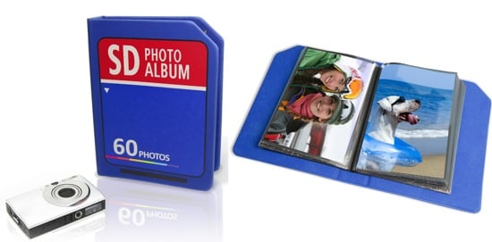 SD Card Photo Album Holds All Your Printed Photos