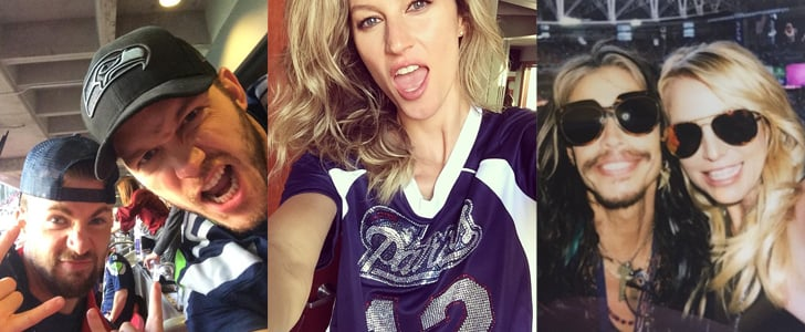 Stars Share Their Super Bowl Spirit in Fun Social Snaps
