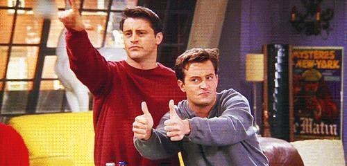 When Joey and Chandler Say How They Really Feel