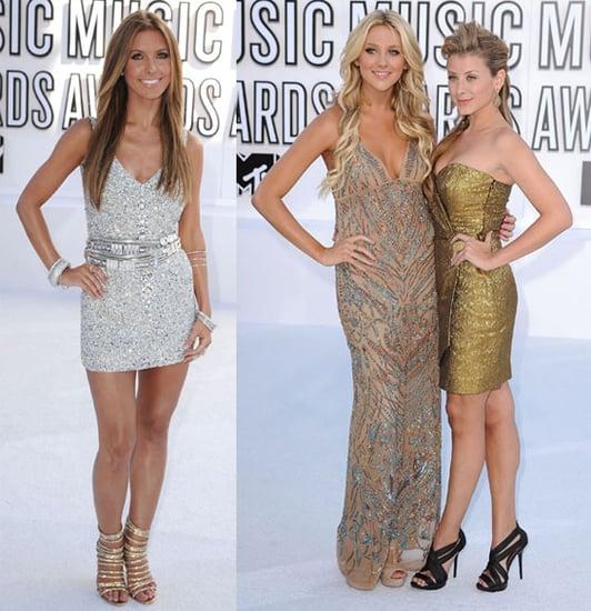 Pictures of Stephanie Pratt, Lo Bosworth and Audrina Patridge at 2010 MTV VMAs