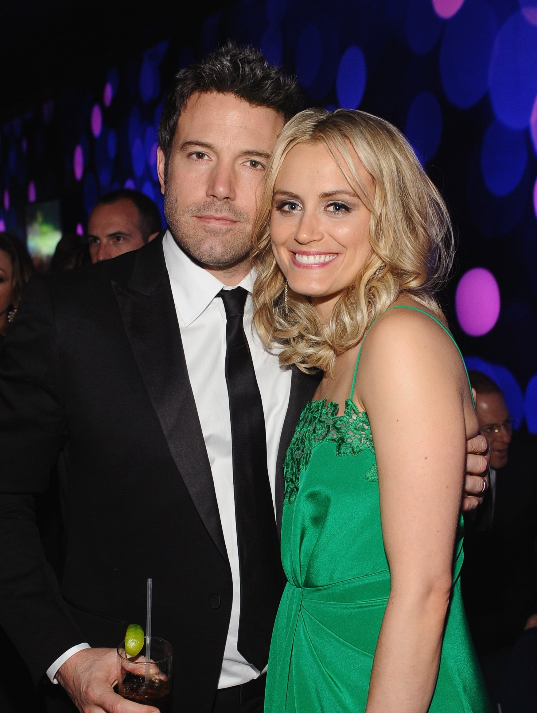 Taylor Schilling and Ben Affleck had an Argo reunion.