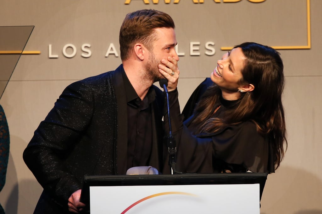The two shared a cute moment together on stage when they presented at the 2015 GLSEN Respect Awards in October.