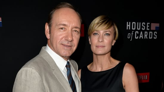 Robin Wright Says She Demanded the Same Pay as Kevin Spacey on 'House of Cards'