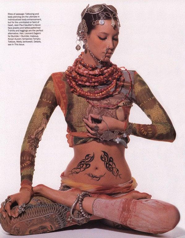 """""""Body Language,"""" Vogue, April 1994"""