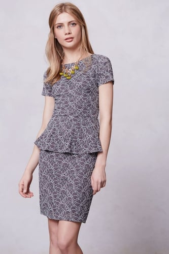 Hazel Peplum Dress
