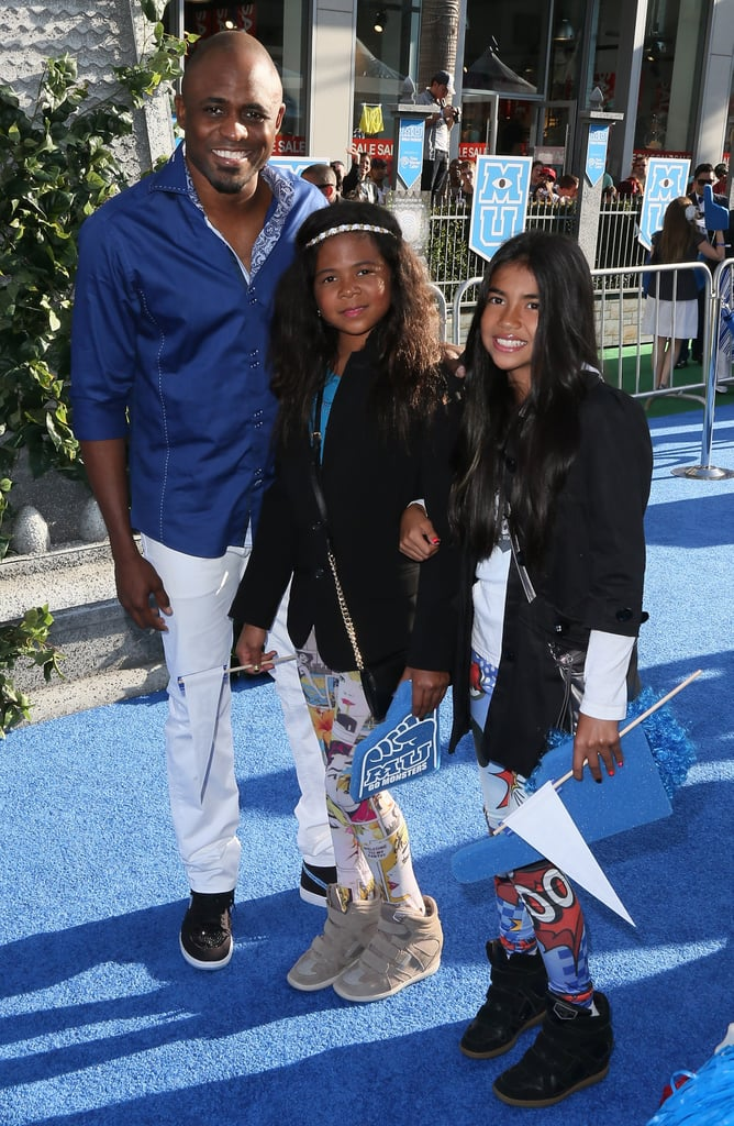 Wayne Brady hit up the premiere with his family.