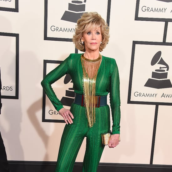 Jane Fonda's Outfit at the Grammy Awards 2015