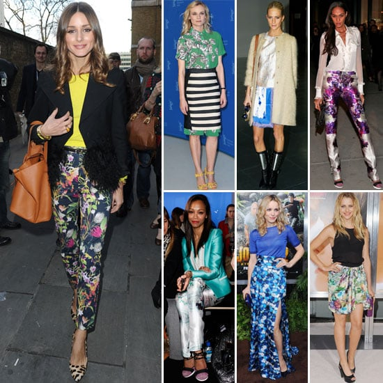 7 Days, 7 Ways: How Celebs Style Their Pretty Floral Separates