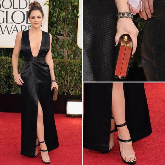 Katharine McPhee | Golden Globes Red Carpet Fashion 2013