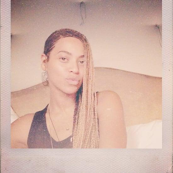 Beyonce's Instagram Pictures on Kim Kardashian's Wedding Day