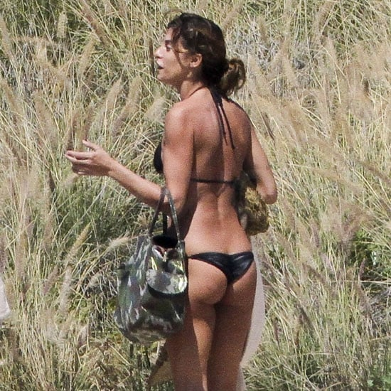 Elisabetta Canalis Hits Cabo With Her Bikini as George Heads to Michigan