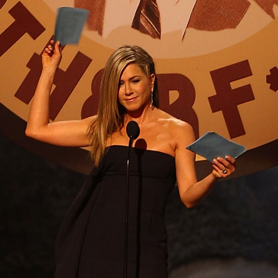 Jennifer Aniston at the Spike TV Guys Choice Awards | Video