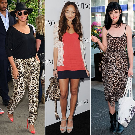Leopard Print Celebrity Trend For Summer 2012