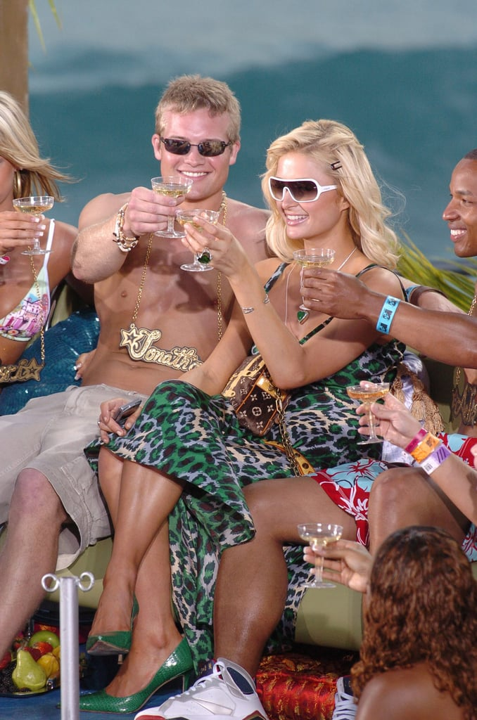 2005: Paris Hilton starts having fun.