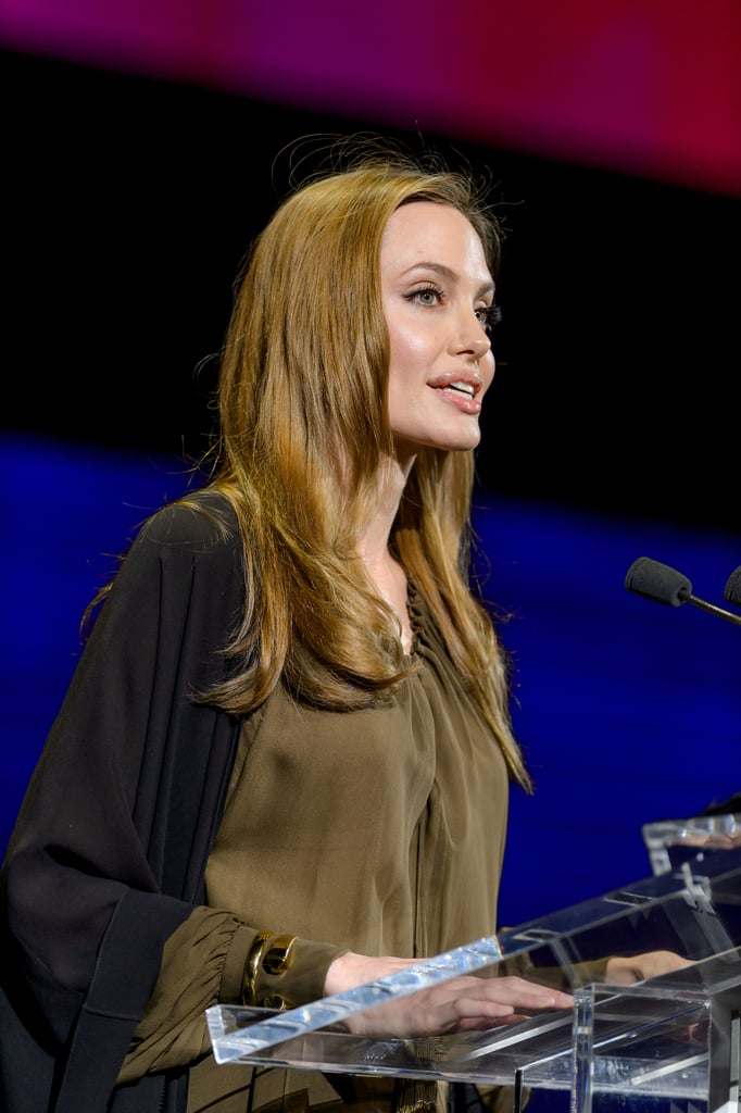 In April 2013, Angelina Jolie attended the Women in the World Summit in NYC to once again show her support for Malala Yousafzai. In addition, she donated $200,000 to the Malala Fund, a charity that was set up by Vital Voices to encourage girls' education.