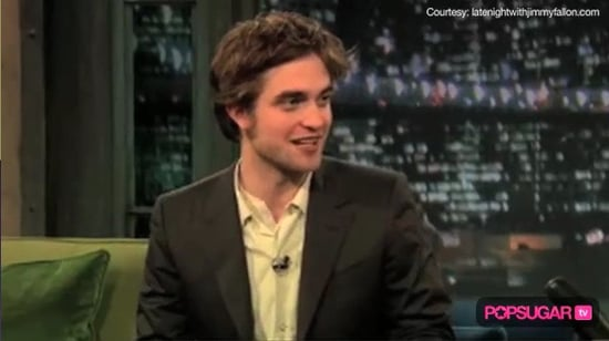 Robert Pattinson on Jimmy Fallon, Robert Pattinson Music, Robert Pattinson and Kristen Stewart