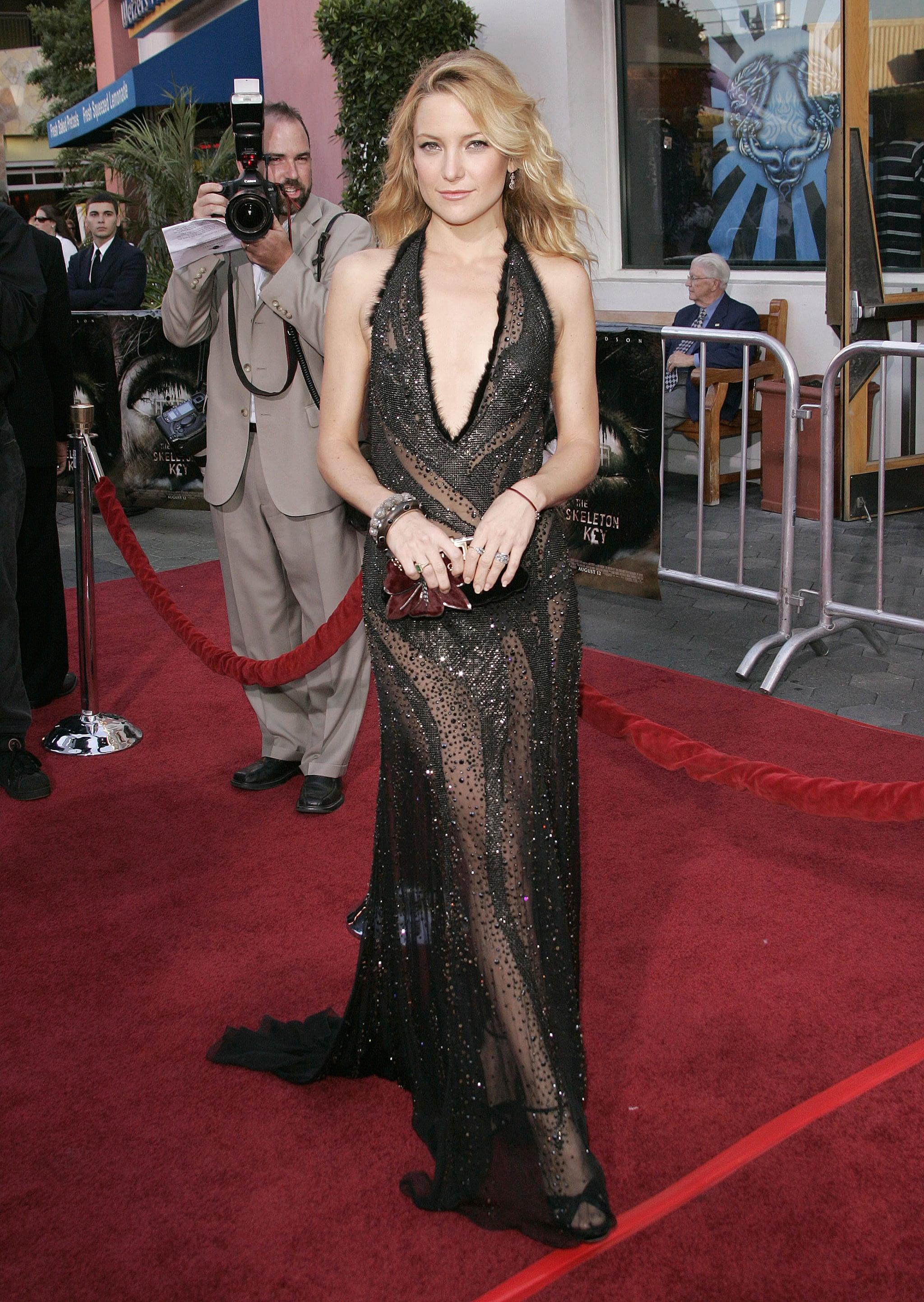Kate Hudson in Versace at the Skeleton Key Premiere