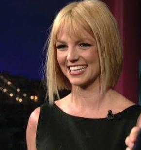 Celebrity Beauty: Britney's Look on Letterman